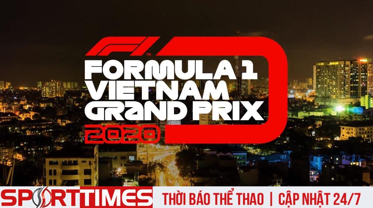 Formula 1 VinFast Vietnam Grand Prix 2020 chính thức bị hoãn vì COVID-19