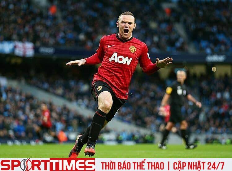 Rooney từng có lúc cổ vũ Liverpool. Ảnh: BPI.