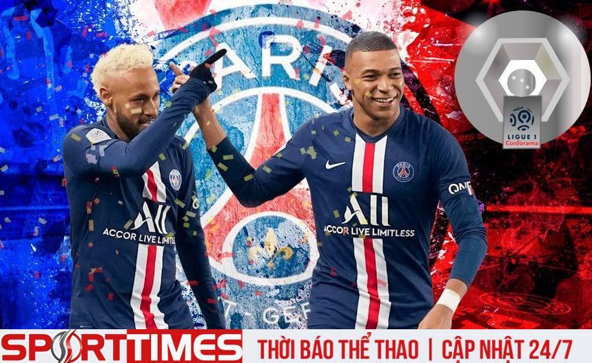 PSG vô địch nhưng khó giữ chân hai ngôi sao Neymar và Mbappe