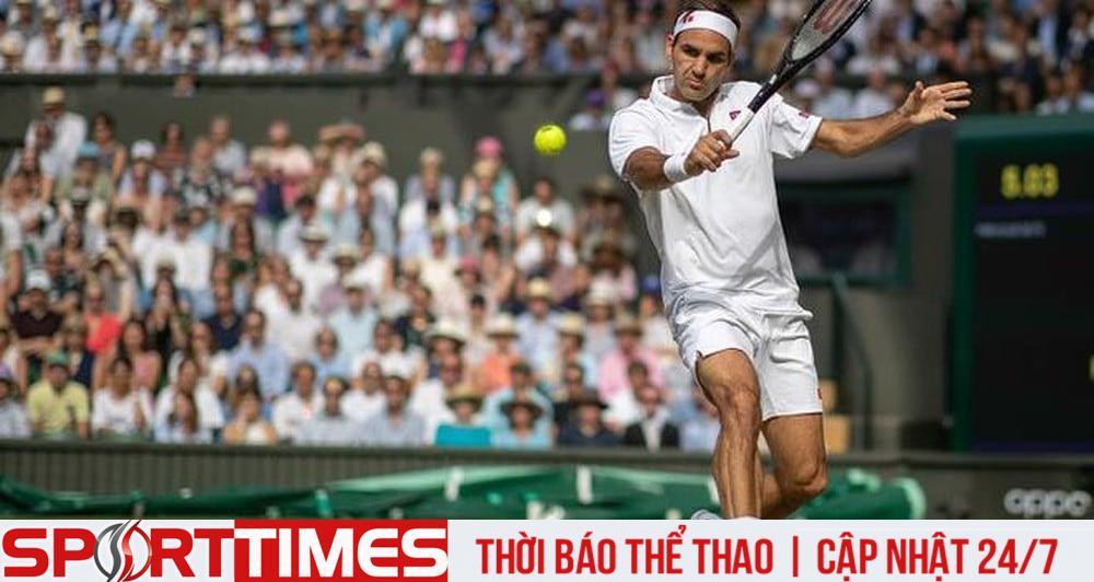 Giải Wimbledon là tất cả với Federer khi đã gần kề tuổi 40. Ảnh: Getty Images.