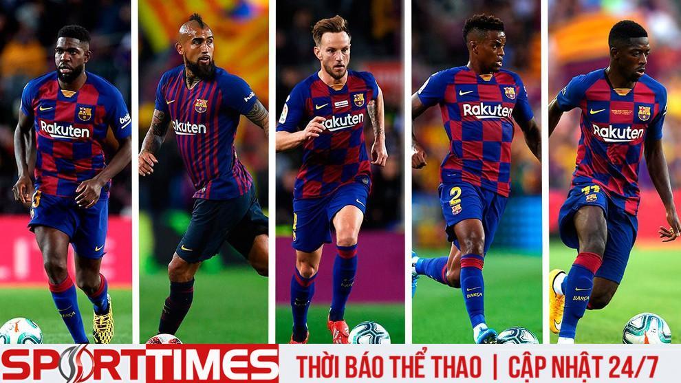 Một số cái tên phải khăn gói khỏi Camp Nou