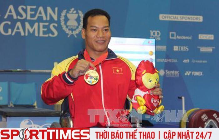 Tại ASEAN Para Games 2017, đoàn thể thao người khuyết tật Việt Nam giành 161 huy chương, phá 11 kỷ lục đại hội. Ảnh: TTXVN