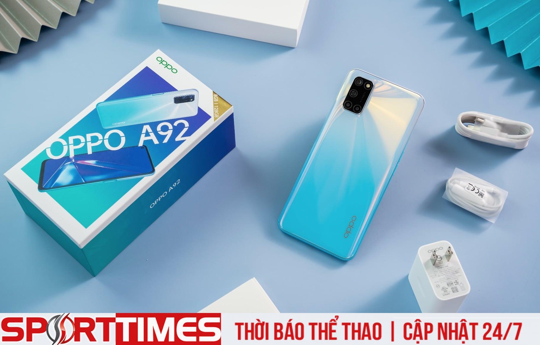 Oppo A92 với pin khủng có giá 6,99 triệu đồng tại Việt Nam