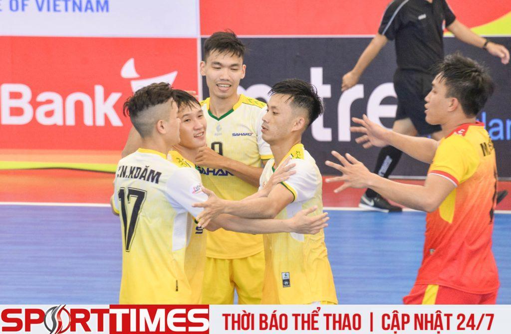 Sahako FC vượt qua Sài Gòn FC sau màn lội ngược dòng ngoạn mục
