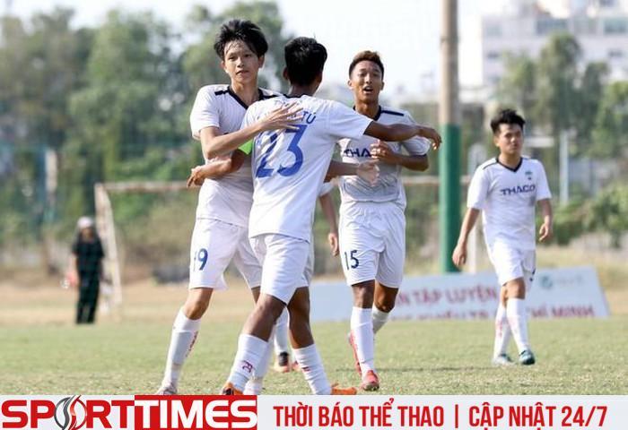Các đội trẻ của HAGL đang có thành tích vượt trội so với các đội trẻ của Hà Nội FC trong năm 2020. (Ảnh: VFF).