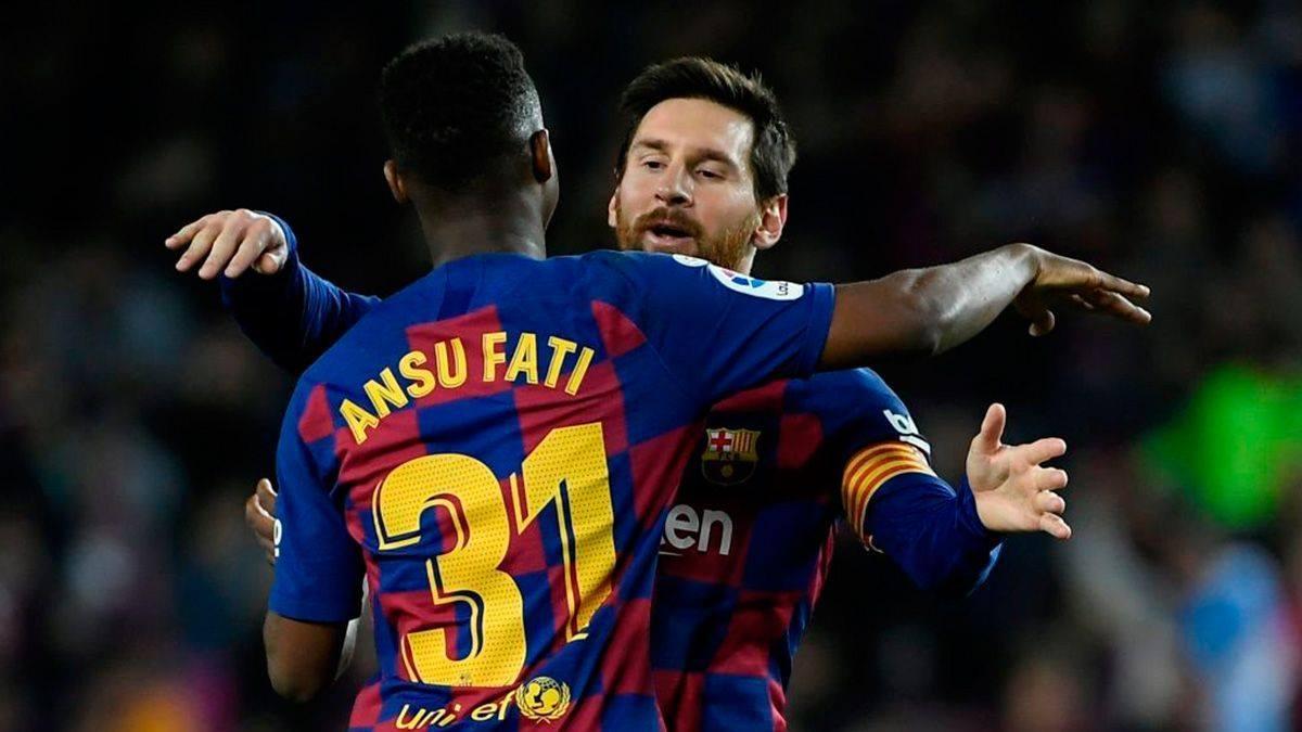 Messi và Fati là nguồn cảm hứng lớn nhất của Barcalona hiện tại