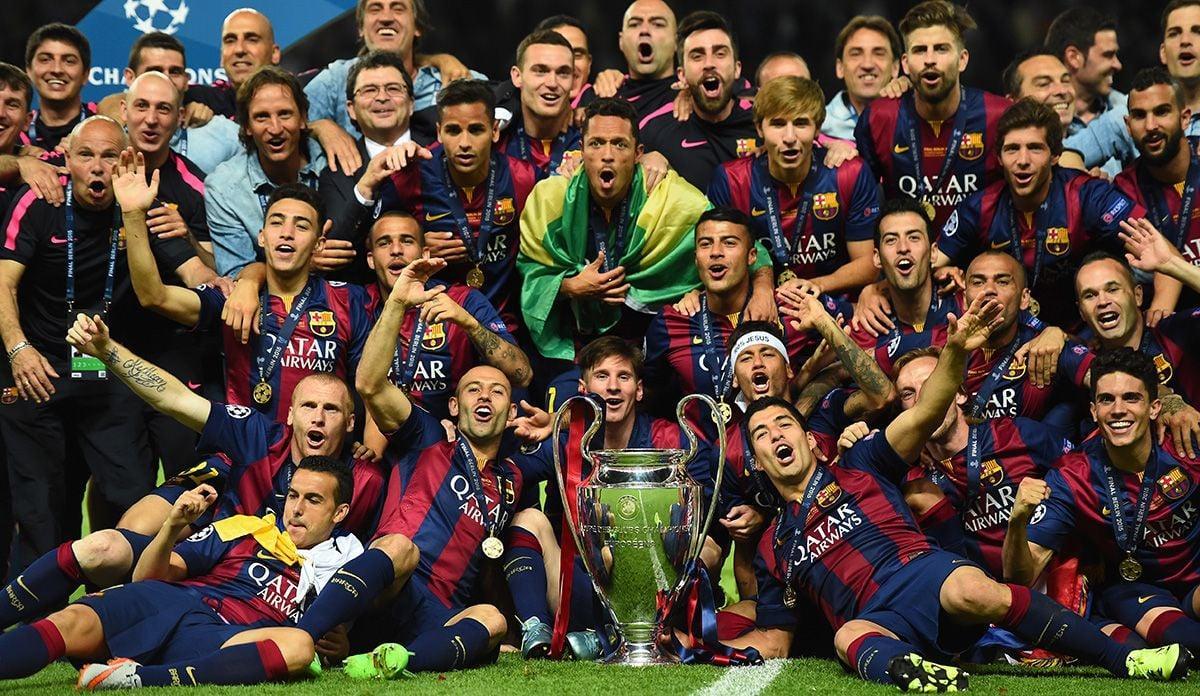 Champions League 2014/2015 là vinh quang cao nhất của Barcalona dưới triều đại Bartomeu