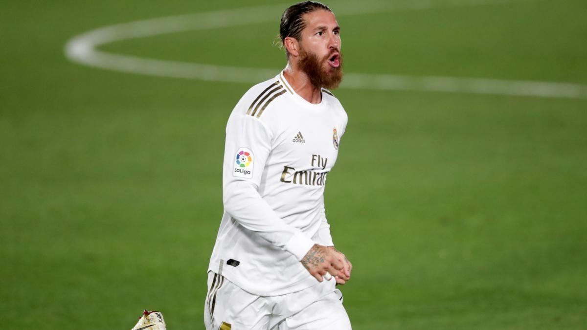 Ramos ghi bàn thứ 100 cho Real Madrid ở trận gặp Inter Milan hôm thứ ba vừa rồi
