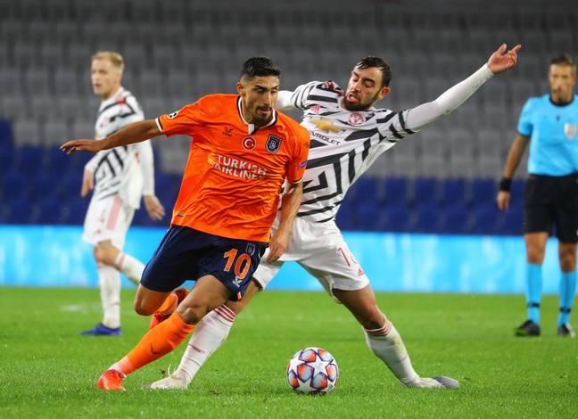 Bruno để mất bóng hơn 30 lần ở trận đấu với Istanbul BB