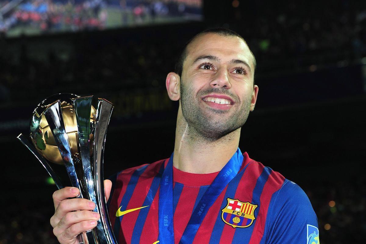 Mascherano giành được vô số danh hiệu với Barcelona