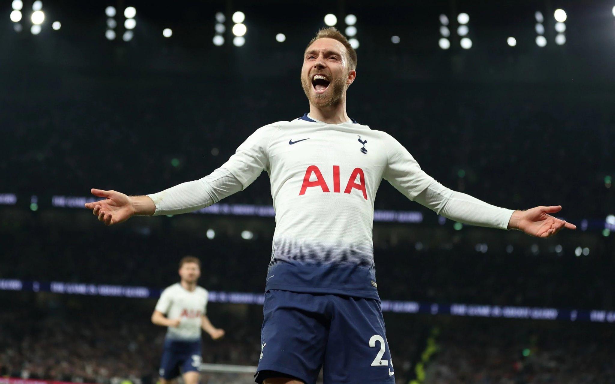 Khoảng thời gian thi đấu cho Tottenham rất thành công của Eriksen