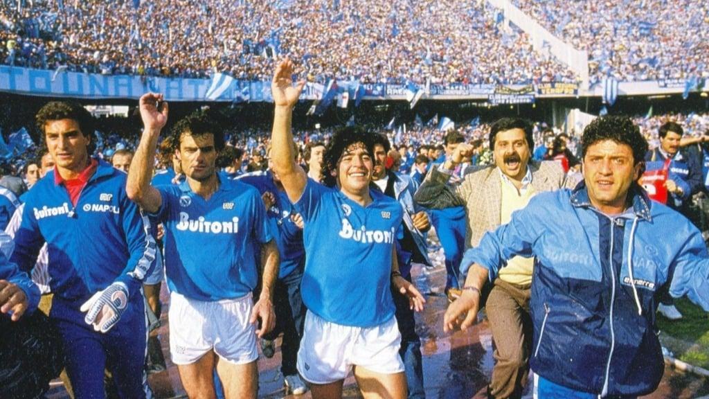 Maradona giúp Napoli có 2 Scudetto duy nhất trong lịch sử