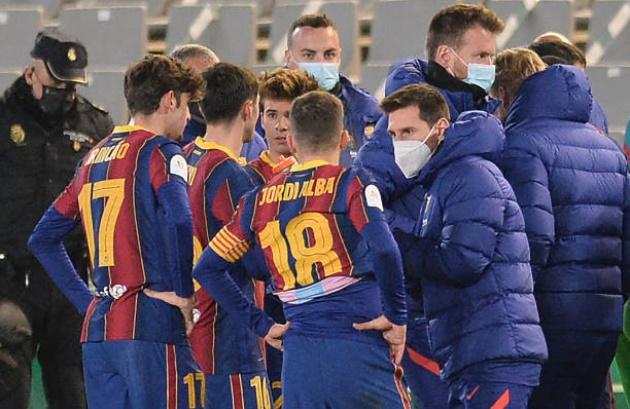 Lionel Messi showed his other face during extra-time - Bóng Đá