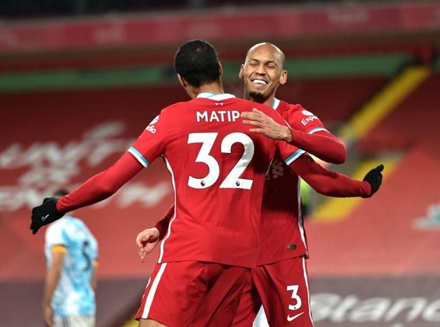 Fabinho acknowledges Liverpool title battle with Manchester United - Bóng Đá