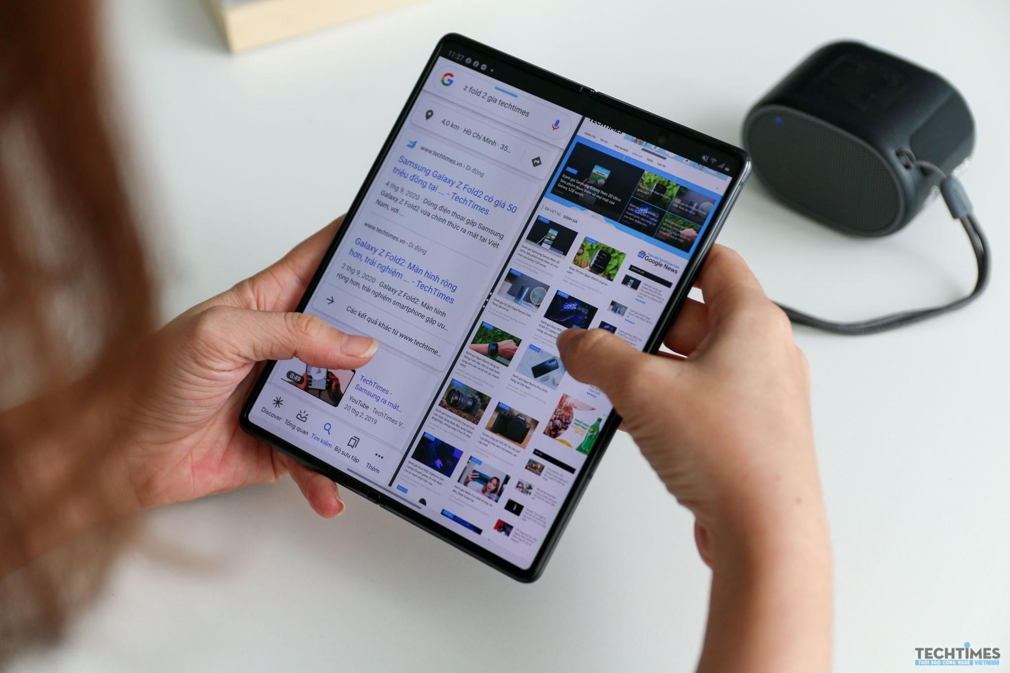 Galaxy Z Fold2 5G tại Việt Nam đã dùng được mạng 5G
