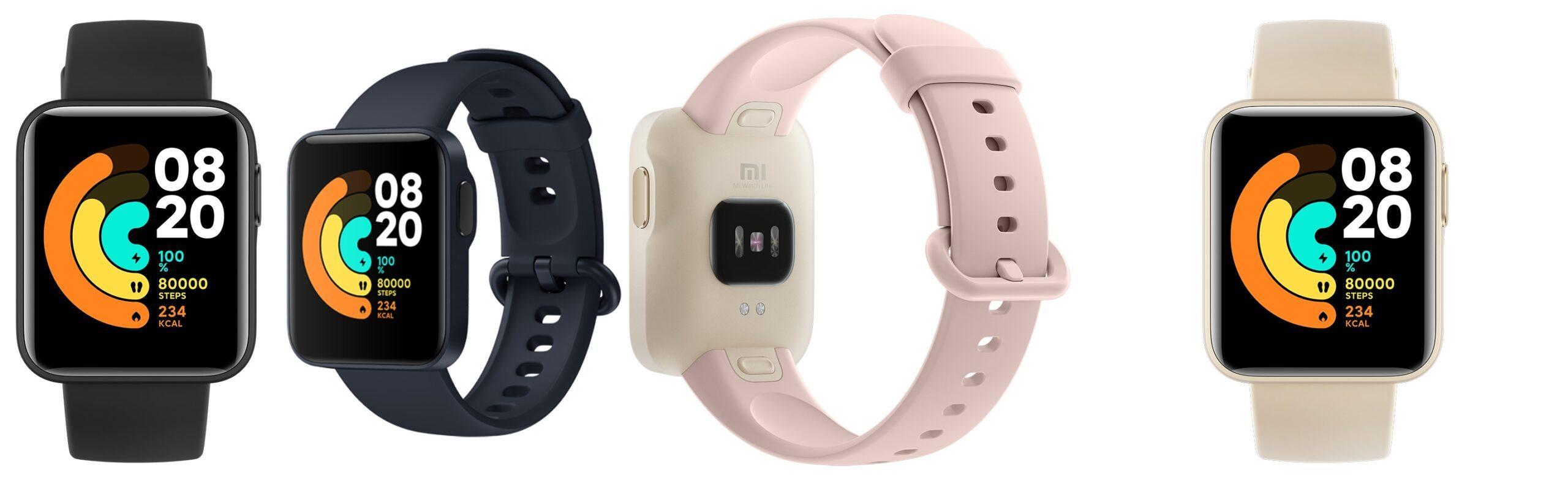Các phiên bản màu sắc của Mi Watch Lite
