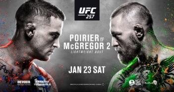 McGregor và Poirier UFC 257
