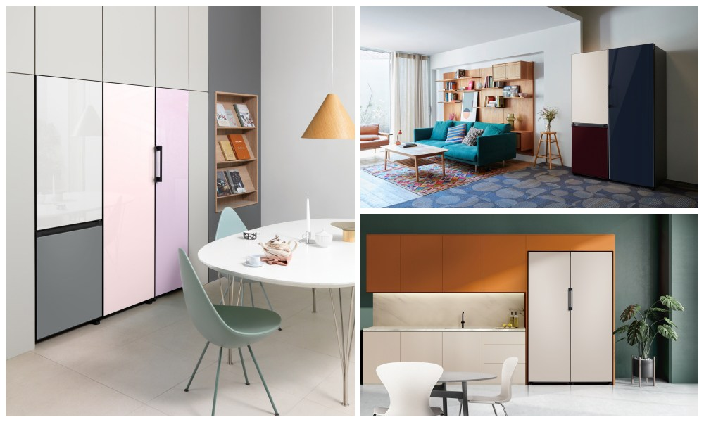 Triết lý tập trung vào phong cách sống và sự tùy chỉnh được thể hiện thông qua tủ lạnh Bespoke của Samsung