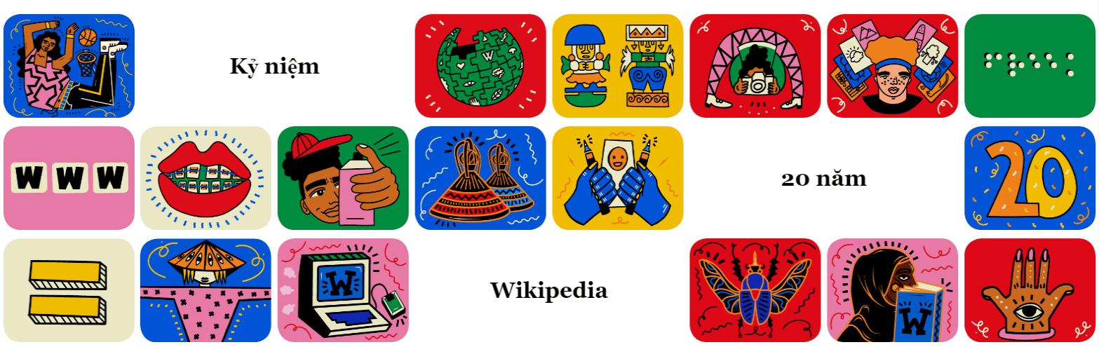 Wikipedia kỷ niệm 20 năm cung cấp thông tin miễn phí