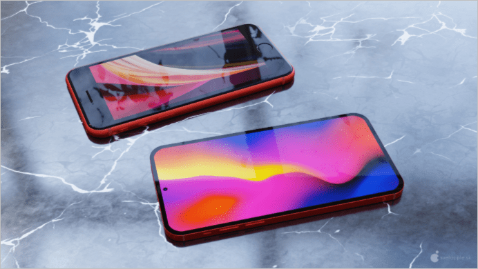 Bản vẽ concept iPhone SE 3 của Apple được tiết lộ
