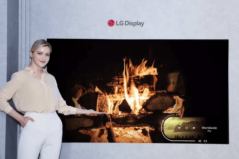 LG Display ra mắt bảng điều khiển TV OLED nhỏ nhất của mình