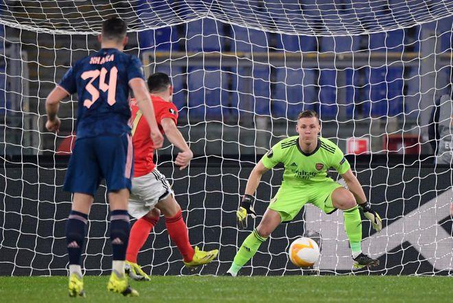 Kết quả Europa League, Benfica 1-1 Arsenal: Saka cứu một đêm lãng phí của 'Pháo thủ' - ảnh 2