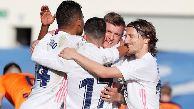 Real Madrid thắng trận thứ 3 liên tiếp, HLV Zidane quyết đua vô địch La Liga - ảnh 2