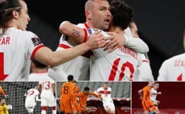 Sao Man Utd dự bị, Hà Lan thua đau trước Thổ Nhĩ Kỳ