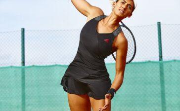 BST Tennis gồm những mẫu Bodysuit mới và các sản phẩm chủ lực cho mùa Xuân Hè 2021 như quần short Next Level và váy Tennis Y-Dress