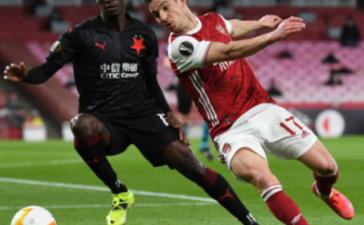 Chấm điểm Arsenal trận Slavia: Nỗi thất vọng Partey!