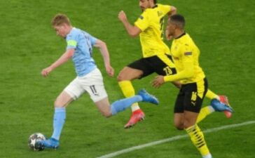 Vượt ải Dortmund, Man City đại chiến PSG ở bán kết Champions League