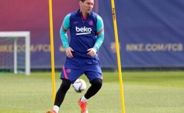 Messi xuống râu, mong đổi vận trước thềm chung kết Cúp nhà Vua