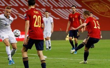 Thủ môn mắc sai lầm, Tây Ban Nha vẫn giành trọn 3 điểm trước Kosovo