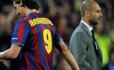 Tin nhắn ẩn ý Messi gửi Pep khi Ibrahimovic chơi cho Barca