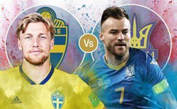 Thụy Điển 0-0 Ukraine: Tấn công là lẽ sống (H1)