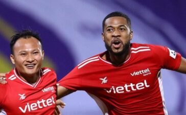 CLB Viettel thắng 5-0 ở AFC Champions League