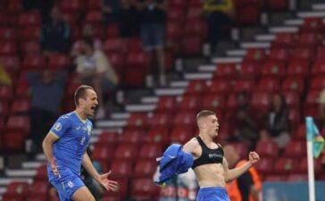 Bàn thắng đi vào lịch sử EURO của Ukraine