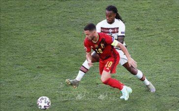 Đội tuyển Bỉ lo lắng về chấn thương của De Bruyne và Hazard