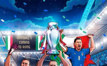Biếm họa 24h: Cúp vô địch EURO về nhà... ở Italia