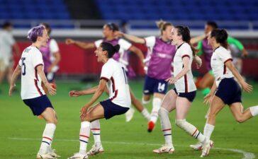 Bóng đá nữ Olympic Tokyo: Australia thắng sốc, Mỹ hạ gục Hà Lan