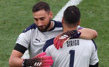 Tuyển Italy rơi nước mắt vì hành động của thủ môn dự bị
