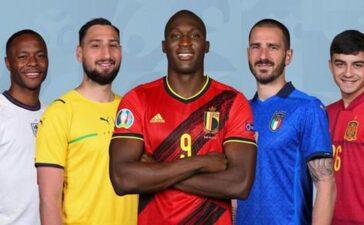 Đội hình xuất sắc nhất EURO 2020: Lukaku đá văng Ronaldo và Kane