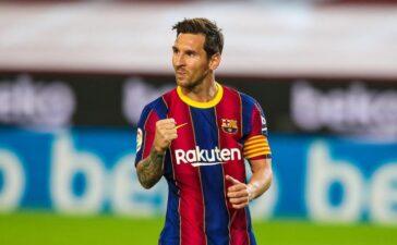 Messi giảm lương kỷ lục, ở lại Barca thêm 5 năm
