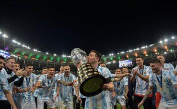 Argentina đánh bại Brazil 1-0, vô địch Copa America