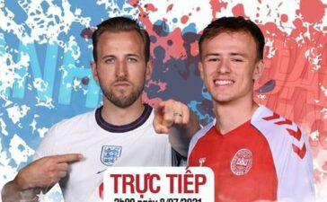 Trực tiếp bán kết Đan Mạch - Anh (0-0 h1): Bukayo Saka đá chính, Jadon Sancho dự bị