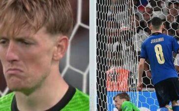 Thủ môn Jordan Pickford đã tự nói gì với chính mình trước khi đỡ quả penalty của Jorginho?