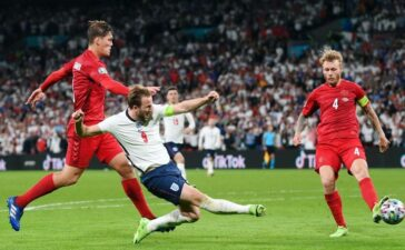 Trực tiếp bóng đá Anh 2-1 Đan Mạch: Harry Kane giúp Tam Sư ngược dòng