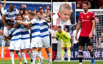 MU thua bẽ bàng đội hạng dưới QPR