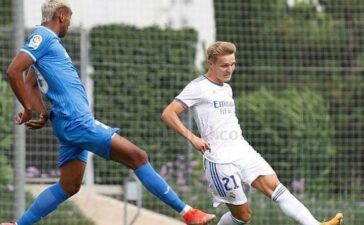 Odegaard tỏa sáng giúp Real Madrid thắng đậm ở trận giao hữu