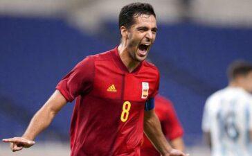 Olympic Tây Ban Nha đi tiếp sau trận hòa 1-1 với Olympic Argentina